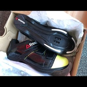 Reebok Shoes - NIB Reebok Indoor Cycling Spin Shoes SPD